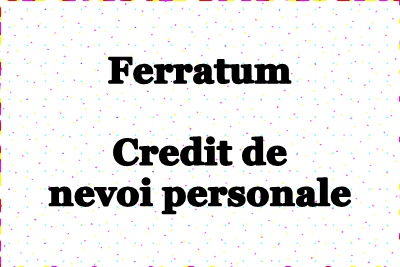 Credit nevoi personale bcr simulare